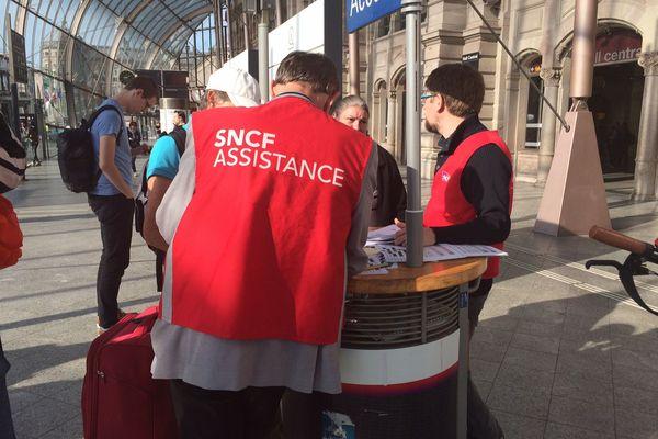 les assistants SNCF mobilisés pendant la grève