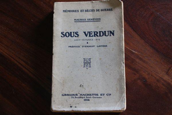 Edition originale de « Sous Verdun » de Maurice Genevoix