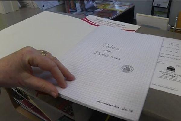 Les citoyens ont pu s'exprimer dans les cahiers de doléances mis en place dans les mairies avant le grand débat national.