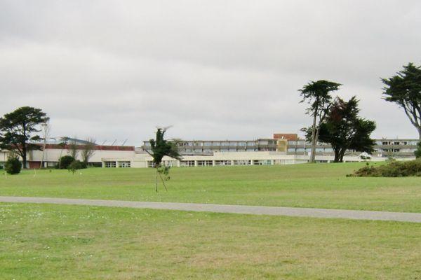Le lotissement était prévu aux abords du centre de rééducation fonctionnelle de Kerpape
