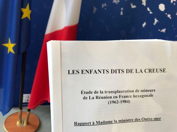 """Le rapport de la commission d'experts sur les """"Enfants dits de la Creuse"""", ministère des Outre-Mers 10 avril 2018"""