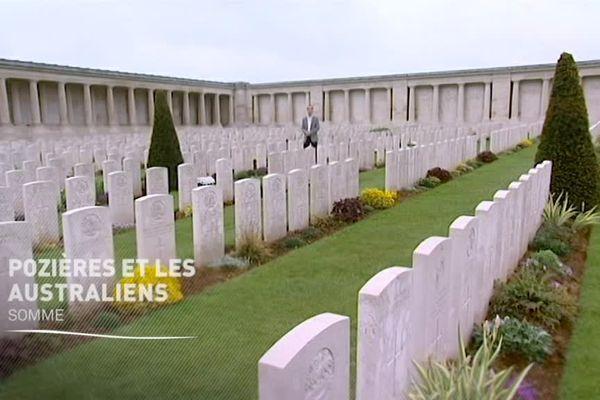 Le mémorial australien de Pozières