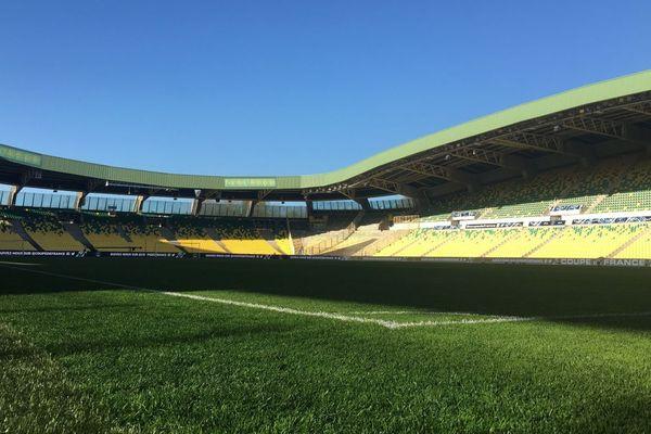 Le stade de La Eeaujoire à Nantes