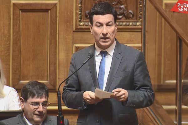 Jérôme Bascher a évoqué le report des élections municipales en raison de la propagation du coronavirus.
