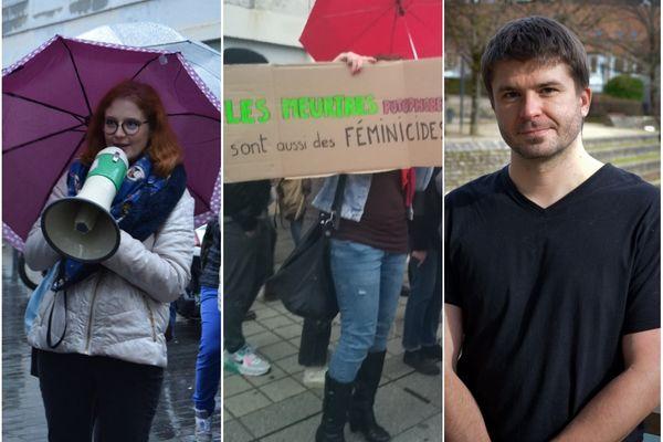 Morgane, Mélodie* et Peha, nous parlent de féminisme, à l'occasion du 8 mars, journée internationale des droits des femmes.