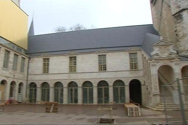 Le chantier de rénovation du musée des Beaux-Arts de Dijon a débuté en 2008, il devrait se poursuivre jusqu'en 2018