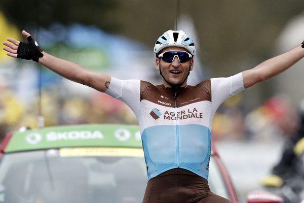 Nans Peters est vainqueur de l'étape Cazères-Loudenvielle.