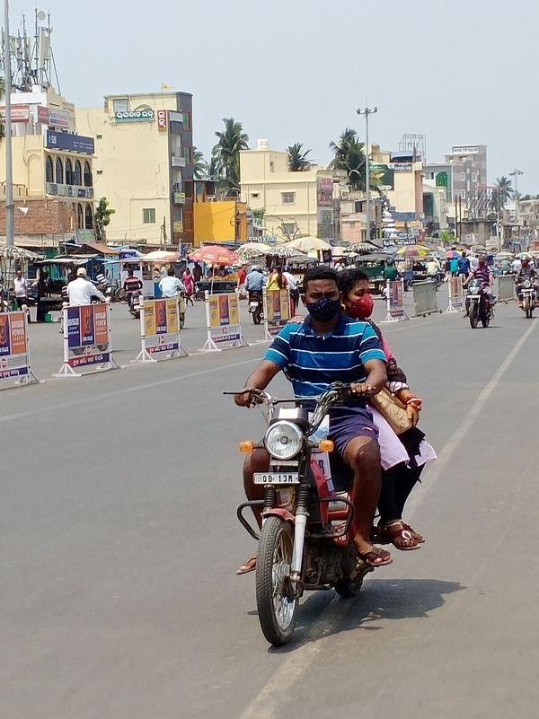 Photo prise par Isabelle, Franc-Comtoise vivant à l'est de l'Inde.