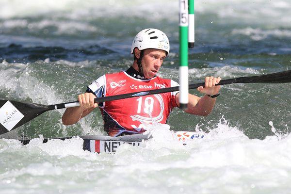 Boris Neveu a remporté les championnats de France de Kayak 2019.