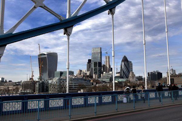 Une vue de Londres.