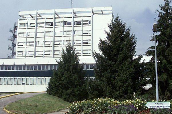 Vue générale de l'Hôpital Sud de Grenoble, situé sur la commune d'Échirolles