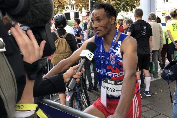 Tura Kumbi Bechere, vainqueur du marathon.