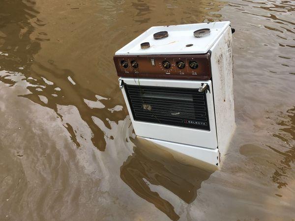 Après les inondations de la nuit, il va falloir réparer les dégâts