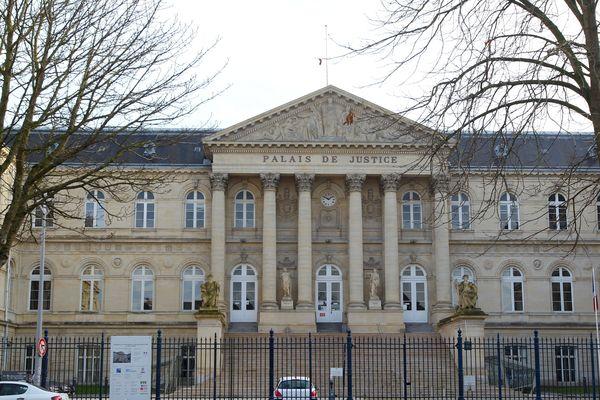 Le palais de justice d'Amiens, en décembre 2019.