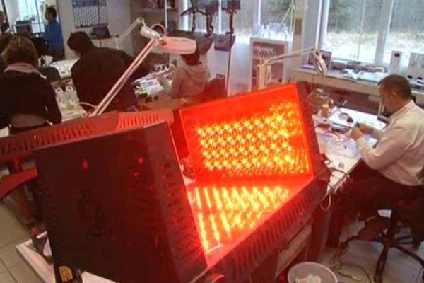 Montrodat (Lozère) - BFP Electronique entreprise spécialisée dans les instruments de médecine esthétique - janvier 2013.
