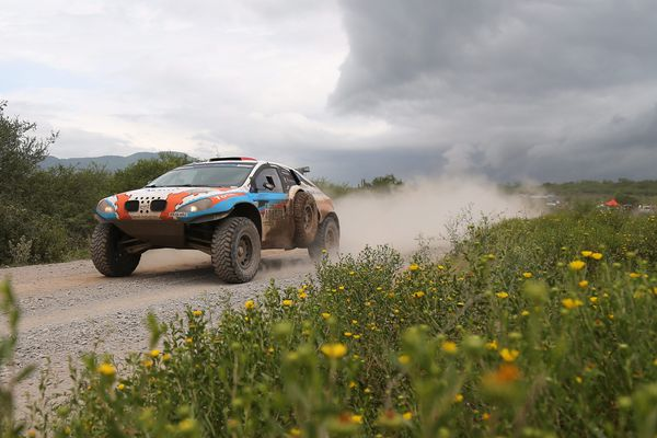 Le buggy de Lionel Baud sur le Dakar 2016