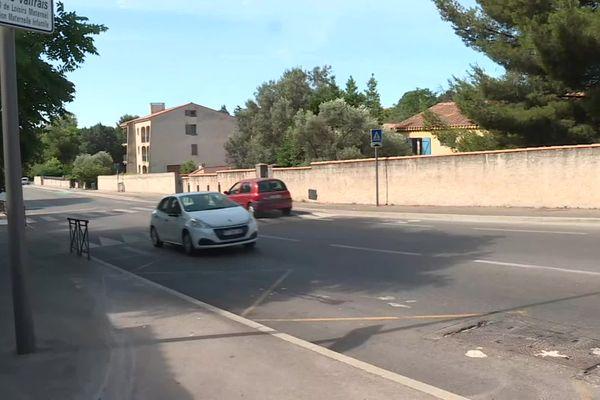 A Septème-les-Vallons, la voiture dans laquelle se trouvait la jeune femme a été prise  pour cible par des tireurs lourdement armés.