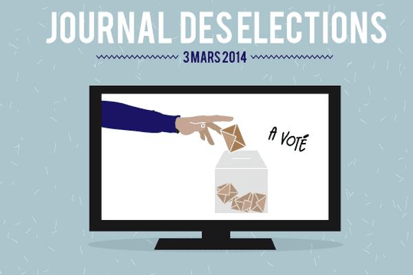 Pour les élections municipales, France 3 Bourgogne vous propose un « journal de campagne » diffusé dans le JT de 19h, du lundi au vendredi.