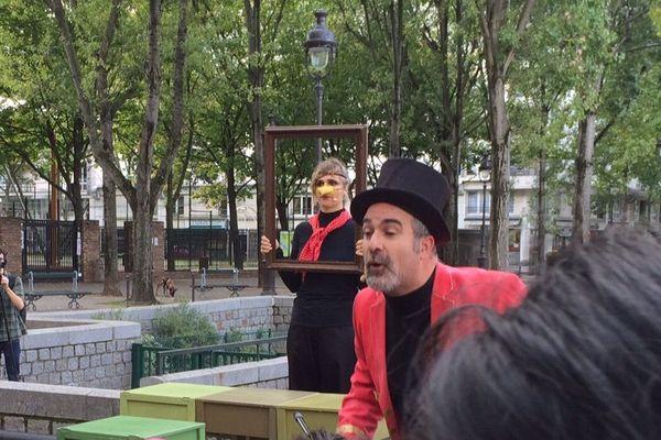 La compagnie In-Sense, à Culture au quai 2015.