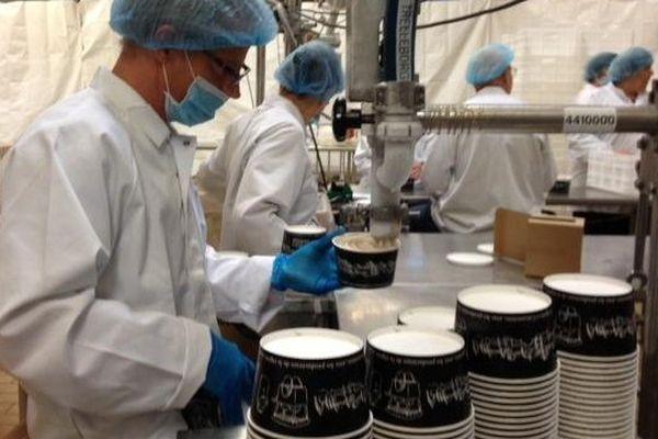 La Fabrique du Sud (ex Pilpa) produit 1500 pots de glace par jour