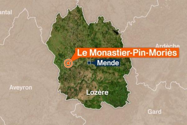 Le Monastier-Pin-Moriès (Lozère)