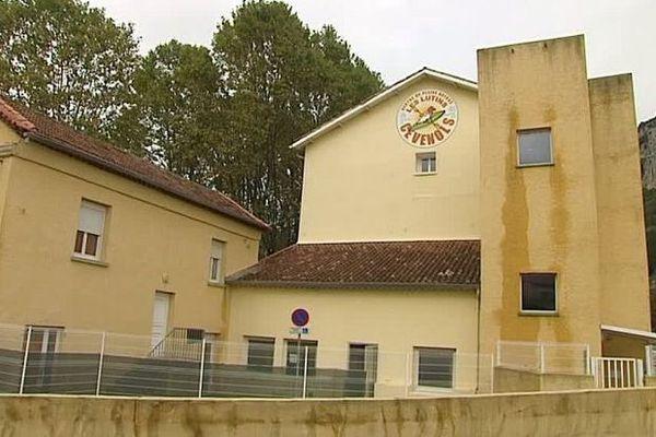 Saint-Bauzille-de-Putois (Hérault) - le centre d'accueil et d'orientation pour les migrants de Calais - octobre 2016.