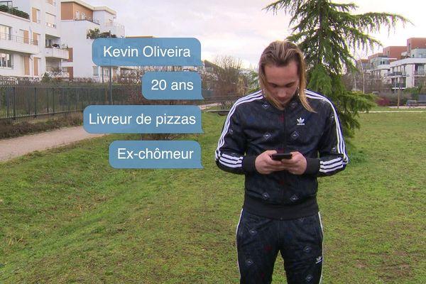Rencontre à Dijon avec Kévin Oliveira, jeune de 20 ans qui a déjà vécu dans la rue.