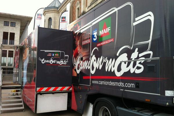 Le Camion des Mots à Blois