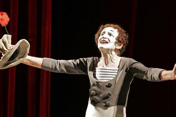 Marcel Marceau avait inventé son personnage de Pierrot lunaire Bip, en 1947.