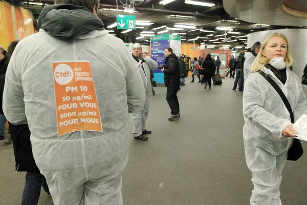 Des agents dénonçaient déjà en 2013 la qualité de l'air dans les stations de métro parisiennes.