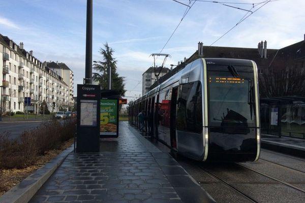 """L'accident de tramway s'est produit près de la station """"Palais des sports."""""""
