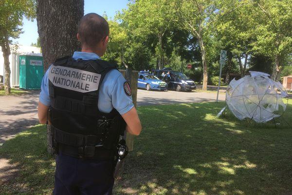 Les gendarmes recherchaient un homme armé à Saint-Esthèphe ce 20 juillet 21.