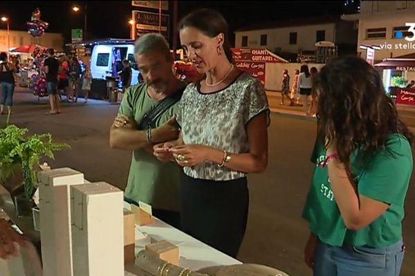 09/08/20018 - Jeudi soir, Folelli (Haute-Corse) organisait une nocturne pour dynamiser son centre ville.