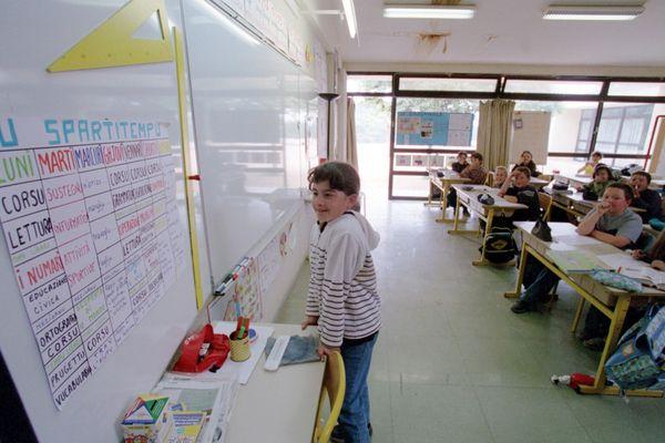 Il y a, aujourd'hui, six écoles immersives en Corse.