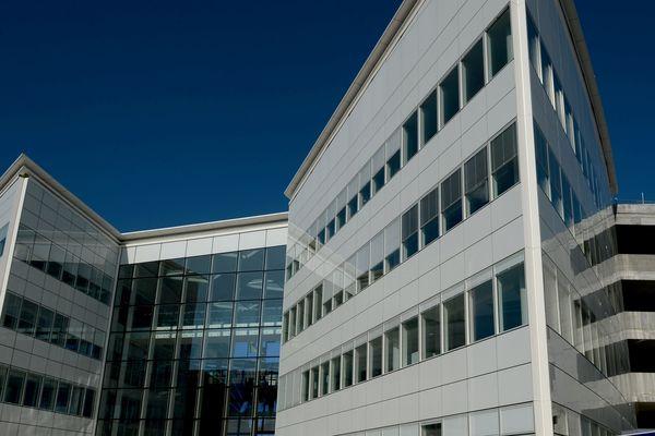 Le siège du groupe ADP, à Tremblay-en-France, implanté à côté de l'aéroport de Roissy.