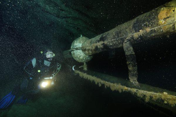 Un tuyau de 50 km relier l'usine de Gardanne à la mer.