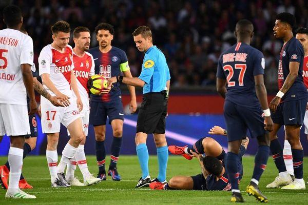 L'AS Monaco a été battu (3-1) par Paris, le 21 avril 2019