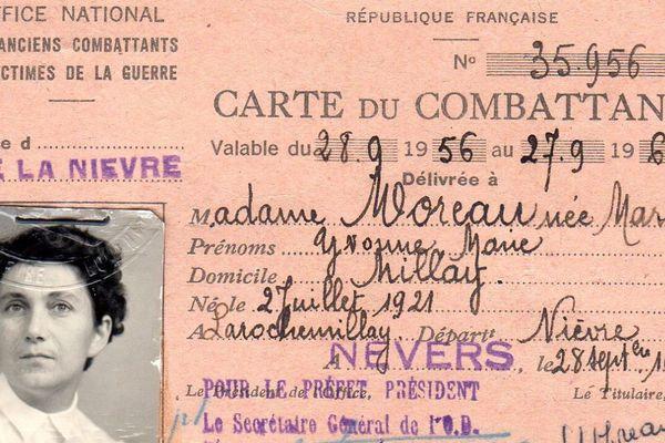 Yvonne Moreau  : la seule femme du maquis Louis