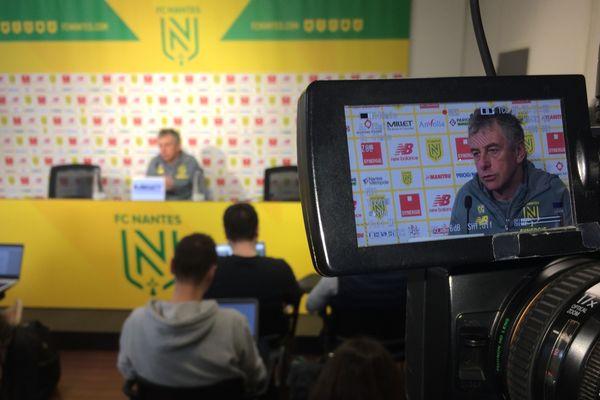 Christian Gourcuff, l'entraîneur du FC Nantes, le 3 février 2020