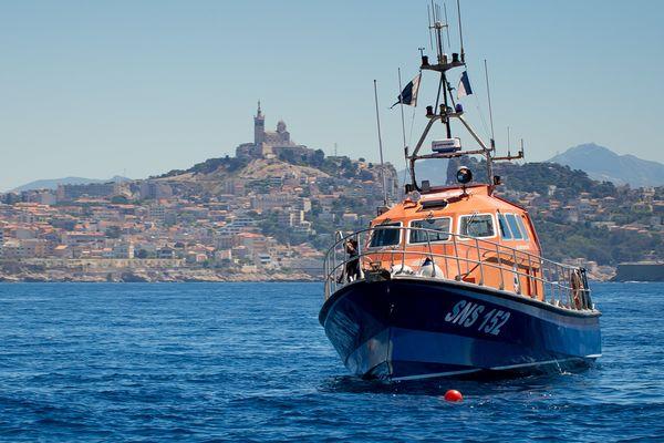 La vedette 152 de la SNSM à Marseille