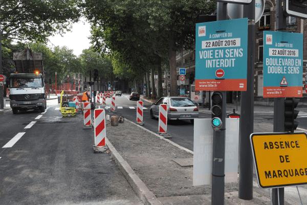 Entre le 19 et le 24 août Lille revoit complètement ses sens de circulation