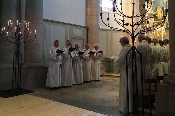 Le chœur grégorien d'Utrecht au Festival de Besançon Montfaucon