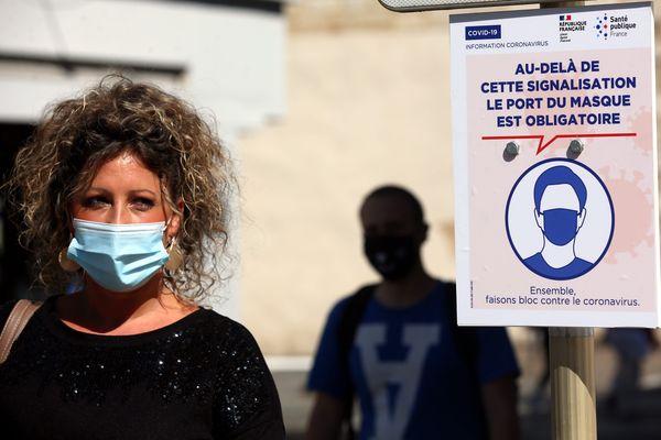 Le port du masque s'est généralisé en Corse depuis août.