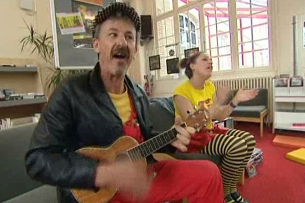 Lucien et les Arpettes, l'un des dix spectacles proposés au festival Vibra'mômes à Flers