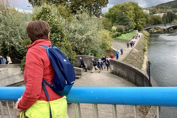 Randonnée de 10km du Trail des forts de Besançon