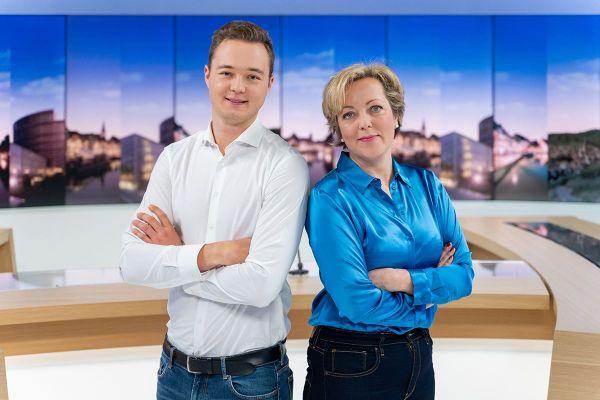 Loïc Schaeffer et Astrid Servent