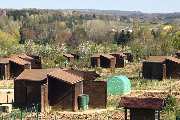 Les jardins ouvriers à nouveau accessibles à leurs locataires à Epinal.