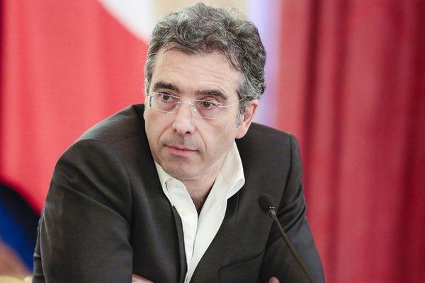 Le politologue Dominique Reynié lors de la 23e Journée du livre politique à l'Assemblée nationale, le 8 février 2014 à Paris.
