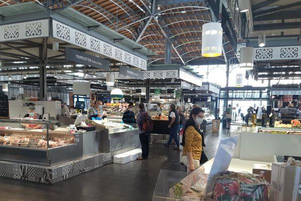 Les Halles de Limoges où s'approvisionnent restaurateurs et particuliers