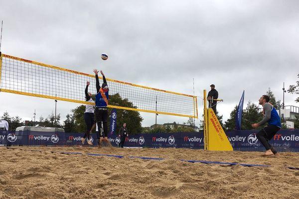 Pour la première fois Nantes accueille tous ce week-end une compétition de Beach Volley